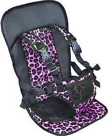 Бескаркасное автокресло для детей  Multi Function Car Cushion Черный с фиолетовым HbP3768711, КОД: 1299521