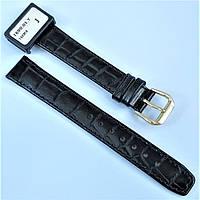 Ремешок из натуральной кожи Condor 169.16.01 16 мм Черный 370302, КОД: 1384955