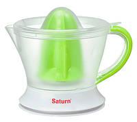 Соковыжималка для цитрусовых Saturn ST-FP0075 1 л 40 Вт Бело-зеленый 34-45899, КОД: 1289144