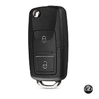 Корпус выкидного ключа Lada ВАЗ с заготовкой (2 кнопки+Логотип Lada)