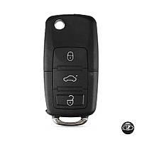 Корпус выкидного ключа Lada ВАЗ с заготовкой (3 кнопки+Логотип Lada)
