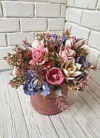 Букет из премиум коллекции с цветами нежного Ириса