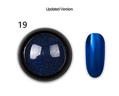 Дзеркальна втирка для нігтів (манікюру) Born Queen №19 UV