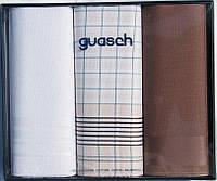 Комплект мужских носовых платков Guasch Sena 90-04 1089, КОД: 1371622