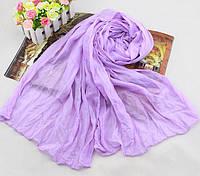 Женский шарф 138х72 см Фиолетовый АL703090, КОД: 1493422
