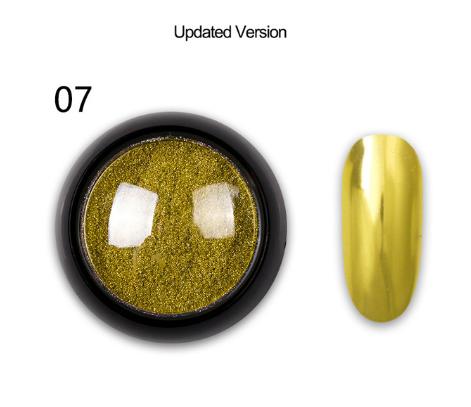 Зеркальная втирка для ногтей (маникюра) Born Queen №07 UV