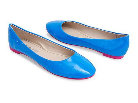 Женские балетки KAOLIN blue!