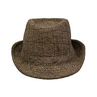 Шляпа Trilby Alan Ponde 58 59см Коричневый 21064, КОД: 1402892
