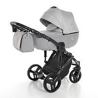 Детская коляска 2 в 1 Junama Fashion Pro 01 Светло-серая 13-JFP01, КОД: 287177