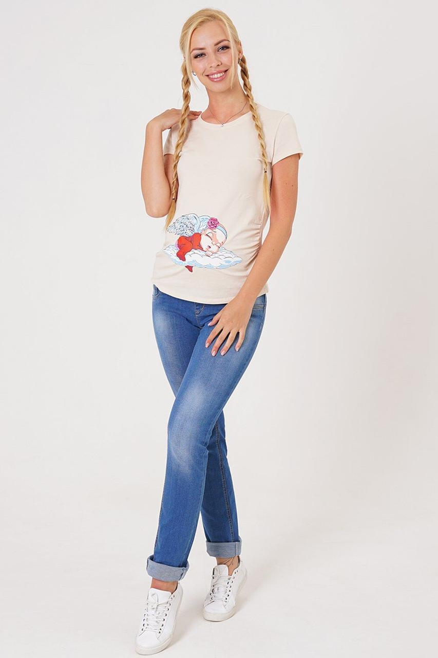 Брюки джинсовые для беременных 10008691-11