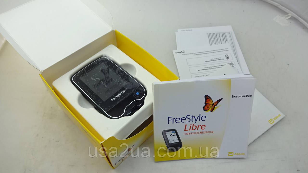 Ридер  FreeStyle Libre (Германия) СЕНСОРОВ НЕТ - глюкометр нового поколения Кредит Гарантия Доставка