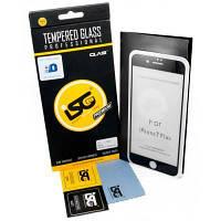 Стекло защитное iSG для Apple iPhone 7 Plus/8 Plus 3D Full Cover Black (SPG4406)