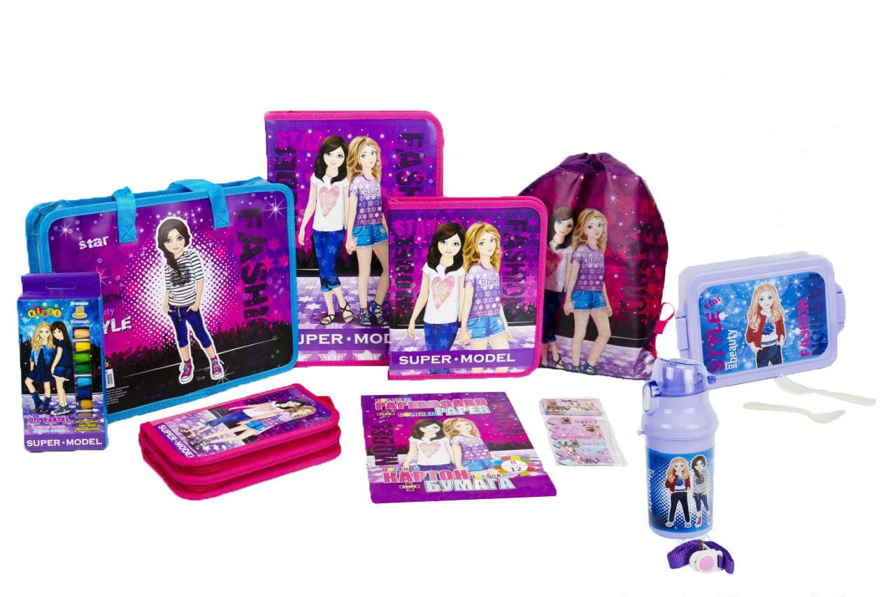 Подарочный набор для выпускника детского сада Kidis Стильные девочки №5-4