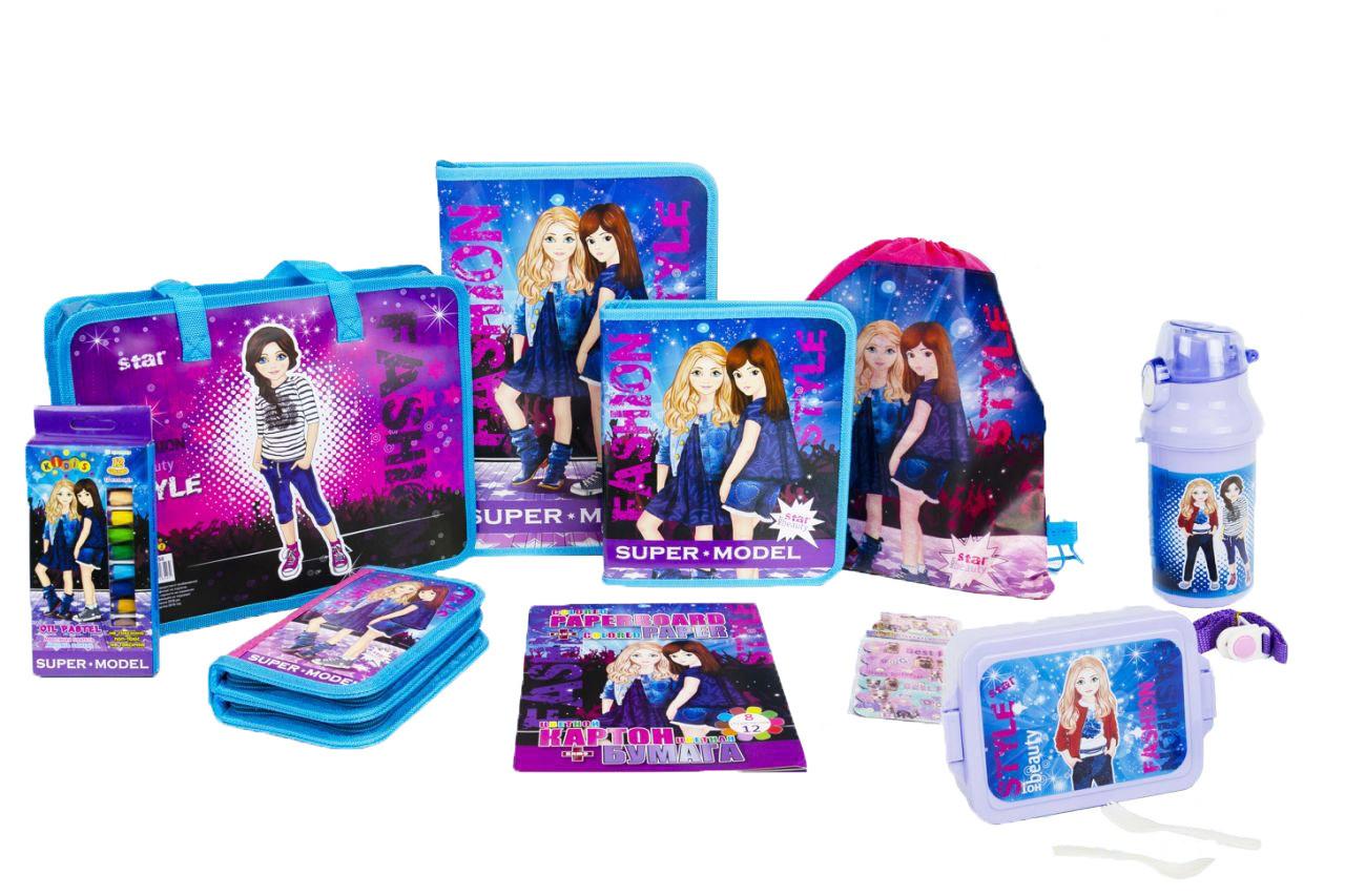 Подарочный набор для выпускника детского сада Kidis Стильные девочки №6-4