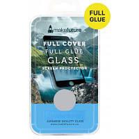 Стекло защитное MakeFuture для Samsung A6 2018 Black Full Cover Full Glue (MGFCFG-SA618B)
