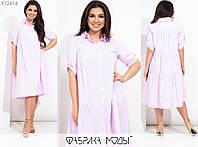 Платье женское свободного кроя (3 цвета) PY/-1019 - Розовый, фото 1