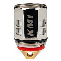 Испаритель Ijoy KM1 Single Mesh Coil 0.15 Ом комлпект 3 шт Серебристый AJj9KM1-3, КОД: 1024250