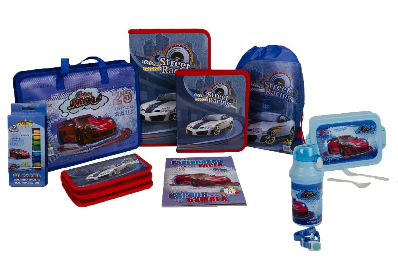 Подарочный набор для выпускника детского сада Kidis Машины №8-4