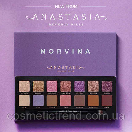 Anastasia Beverly Hills Norvina Eyeshadow Palette Палетка тіней 14, фото 2