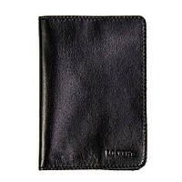 Обложка для паспорта Locker Pas2 с RFID защитой Черная hubdEHR29349, КОД: 1349247