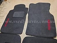 Ворсовые коврики в салон передние Nissan Primera P10/P11