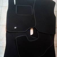 Ворсовые коврики в салон MITSUBISHI Lancer 9 с 2003-2009 гг. (Черные)