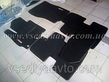 Ворсові килимки в салон MITSUBISHI ASX (Чорні)