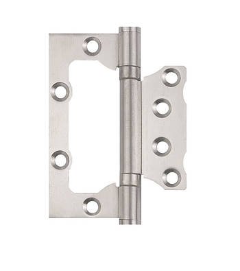 Петля дверна накладна ПОСИЛЕНА SIBA 100 мм, нержавіюча сталь