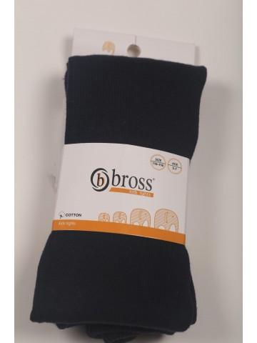 Детские однотонные темно-синие  демисезонные колготки Bross Бросс (поштучно)