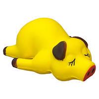Мягкая игрушка-антистресс Squishy Свинка Желтая tdx0000367, КОД: 381096
