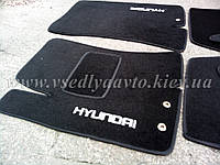 Ворсовые коврики передние HYUNDAI Elantra (2007-2011)