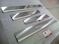 Накладки на пороги Ford FUSION USA Америка с 2012- (Standart)