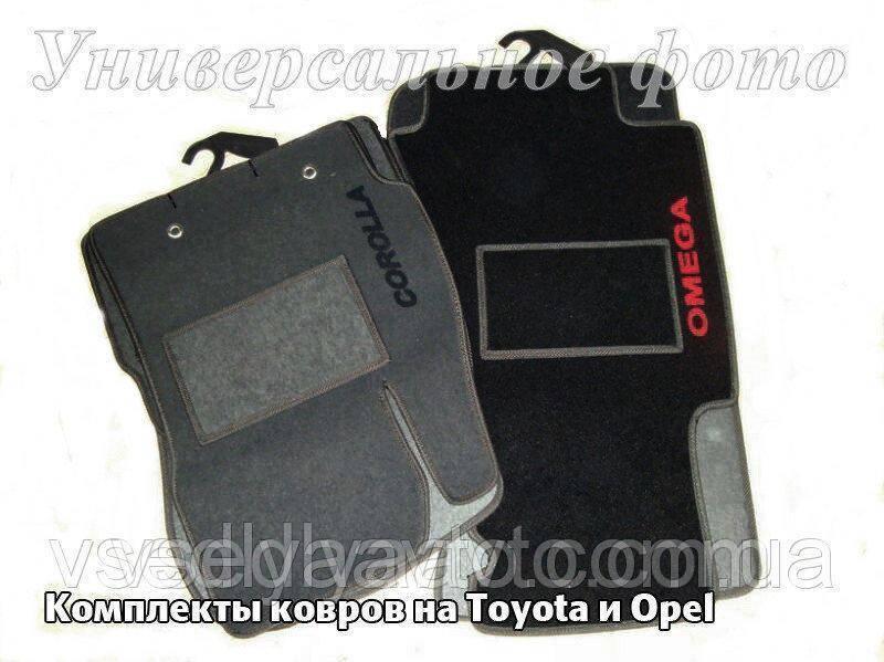 Водительский коврик ворсовый  Jaguar S-type 2000-2008 гг.