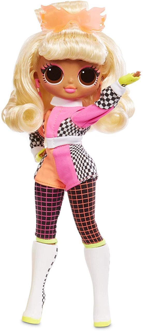 Кукла с аксессуарами L.O.L. Surprise серия O.M.G. Lights Speedster Леди Гонщик (565161)