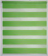 Готовые рулонные шторы Ткань ВН DN-207 Зелёный 1375*1300