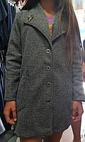 """Пальто підліткове на гудзиках на дівчинку 140-158 см """"Star Kids"""" купити недорого від прямого постачальника"""