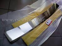 Накладка на бампер с загибом Subaru XV 2012+