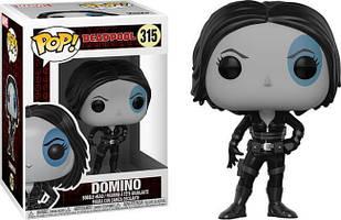 Фігурка Funko Pop Фанко Поп Доміно Марвел Дэдпул Marvel Deadpool Domino 10 см DP D 315