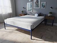 Кровать MELBI Элис Двуспальная 120х190 см Ультрамарин, КОД: 1391066