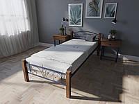 Кровать MELBI Лара Люкс Вуд Односпальная  90190 см Ультрамарин КМ-015-01-1уль, КОД: 1397549