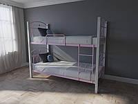 Кровать MELBI Элизабет Двухъярусная 90190 см Розовый КМ-005-03-7роз, КОД: 1398794