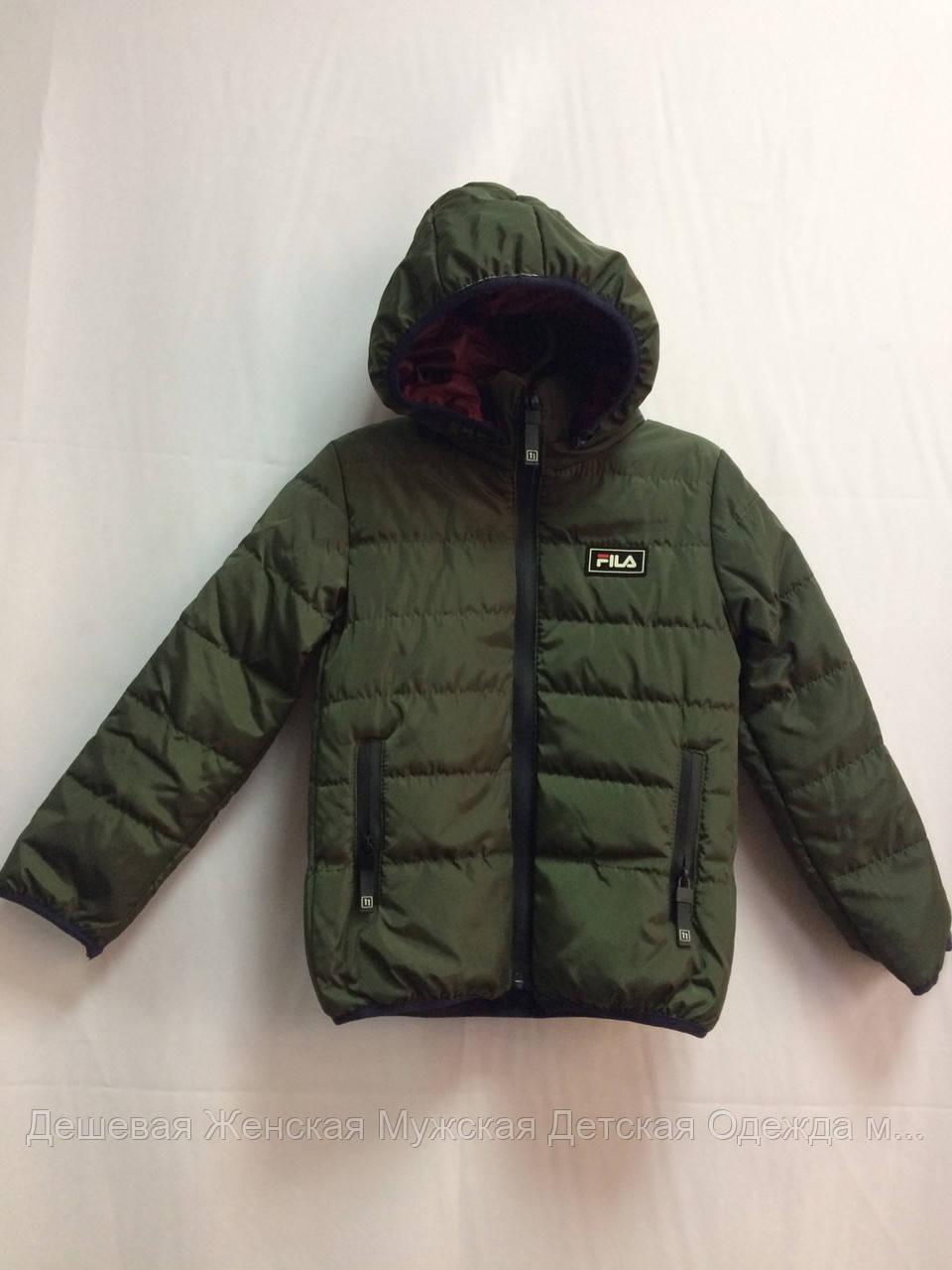 Дитяча куртка з капюшоном
