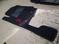 Водительский коврик ворсовый Ford Ranger c 2012-