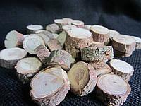 Срезы смереки (пенечки), 45 шт, (25/20) (цена за 1 шт. + 5 гр.)