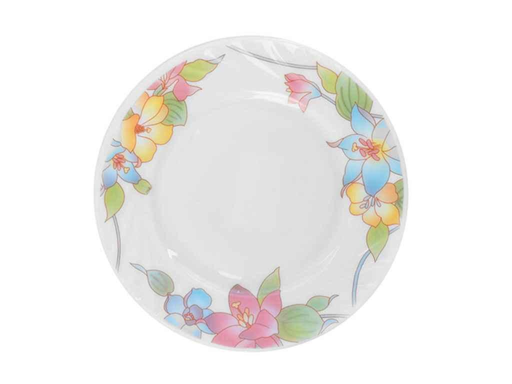 """Набор стеклокерамических тарелок (20.3 см) 6 штук Лилия MS-1729-1366 """"STENSON"""""""
