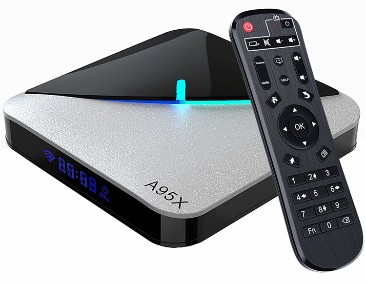 Приставка A95X F3 Air   4/64 GB   Amlogic S905X3   Android TV Box