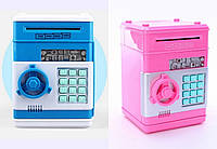 Электронная копилка-сейф с кодовым замком Number Bank