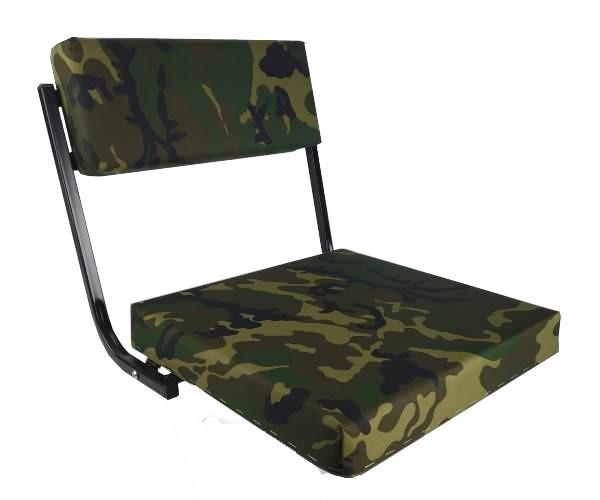 Складное камуфлированное сиденье для лодки