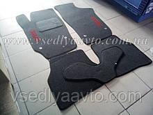 Ворсовые коврики Seat Ibiza с 2008-2017 гг. 5 дверка (Серые)