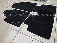 Ворсовые коврики в салон LEXUS ES 300  (Черные)